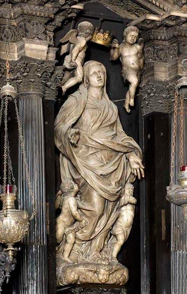 L'Assunta dell'altare.