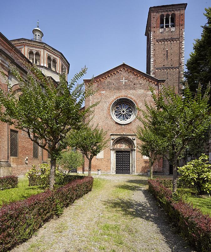 Basilica di S. Celso allo stato attuale.